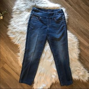 Jag high rise skinny jeans.